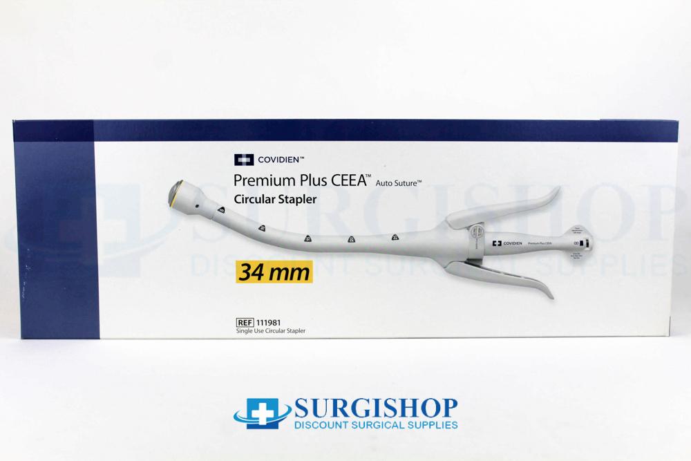 Covidien Premium Plus CEEA Circular Stapler 34.0mm