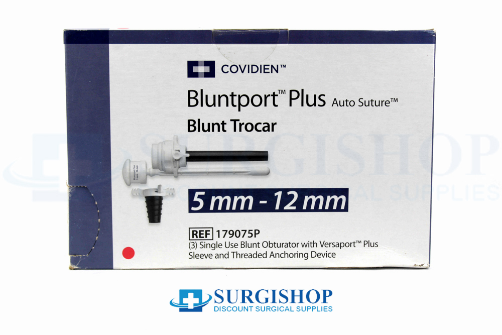 Covidien BluntPort Plus Blunt Trocar 5.0mm x 12.0mm