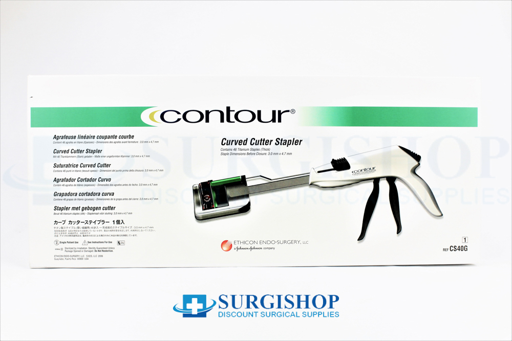 Ethicon Contour Curved Stapler Green Reload 40.0mm