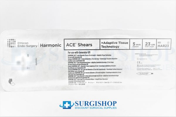 Ethicon Harmonic Ace + Shears Adaptive Tissue 5.0mm x 23.0cm
