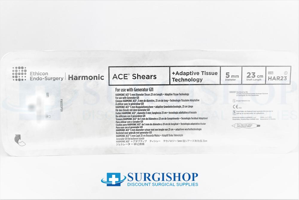 Ethicon Harmonic Ace + Shears Adaptive Tissue 5.0mm x 23.0cm