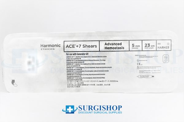 Ethicon Harmonic Ace + 7 Shears Advanced Hemostasis 5.0mm x 23.0cm