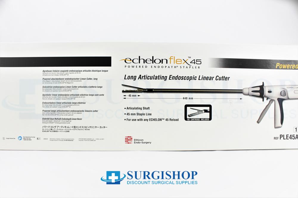 Ethicon EchelonFlex Endoscopic Articulating Long Linear Cutter Stapler 45.0mm x 44.0cm