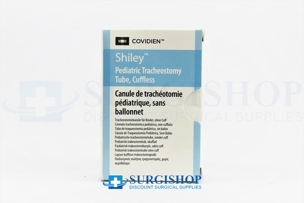 Covidien Shiley Cuffless Pediatric Tracheostomy Tube 3.0mm