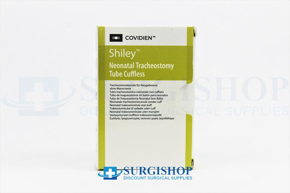 Covidien Shiley Cuffless Neonatal Tracheostomy Tube 3.5mm