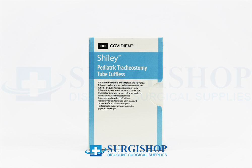 Covidien Shiley Cuffless Pediatric Tracheostomy Tube 4.5mm