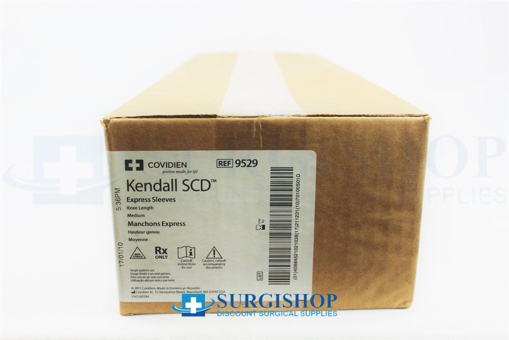 a3a15aa752 9529 - Covidien Kendall SCD Express Knee Length Medium Sleeves Box ...