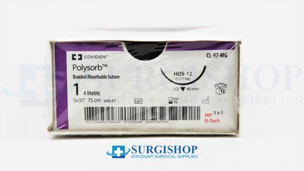 Covidien Suture Polysorb 1 (Violet)