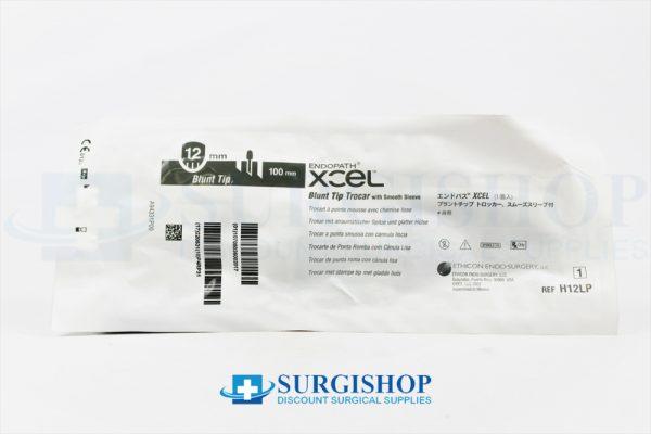 Ethicon Endopath XCEL Blunt Tip Trocar Smooth Sleeve 12.0mm x 100.0mm