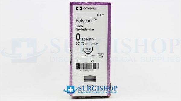 Covidien Suture Polysorb 0 (Violet)