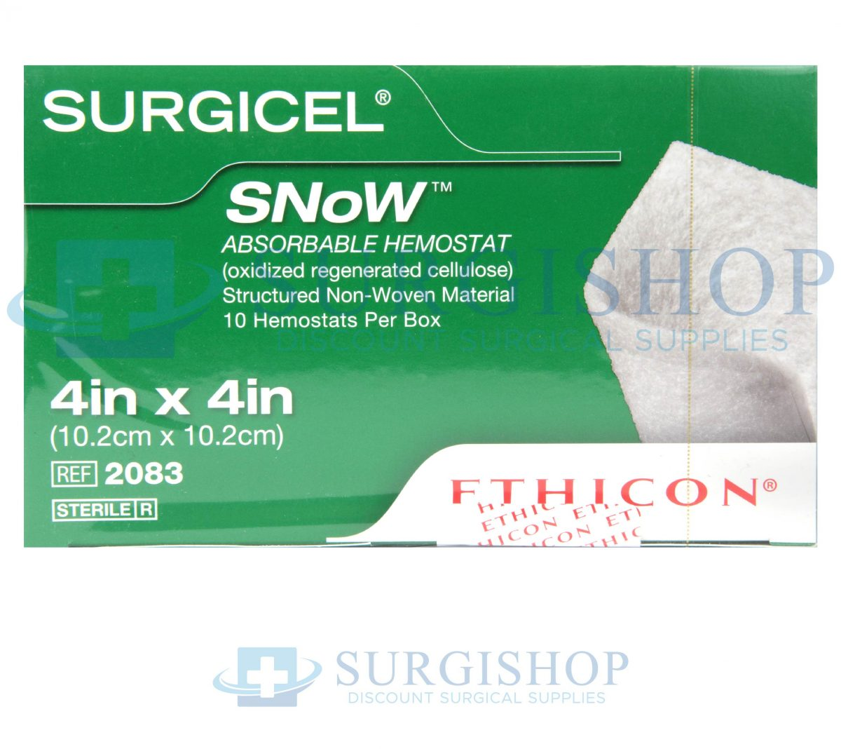 Ethicon Surgicel SNoW Absorbable Hemostat