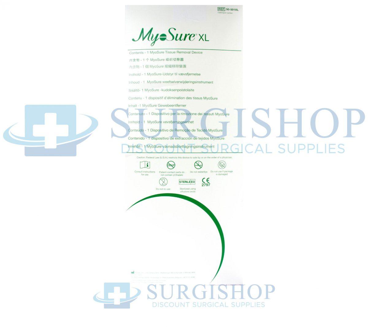 50-501XL – Hologic Myosure XL TIssue Removal Device Each