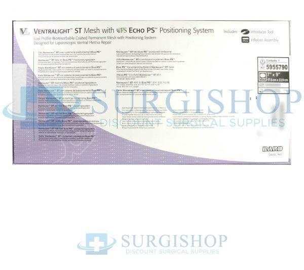 5955790 – Bard Ventralight ST w/ECHO 7″ x 9″ (17.8cm x 22.9cm) Ellipse Each