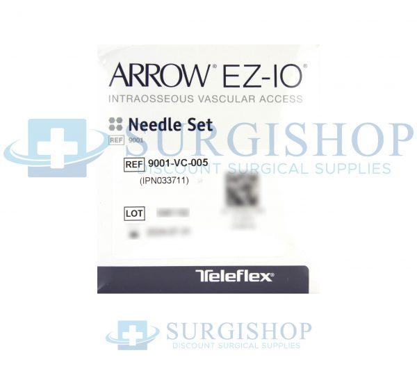 9001-VC-005 – Arrow EZ-IO Needle Set 25mm x 15G Box of 5