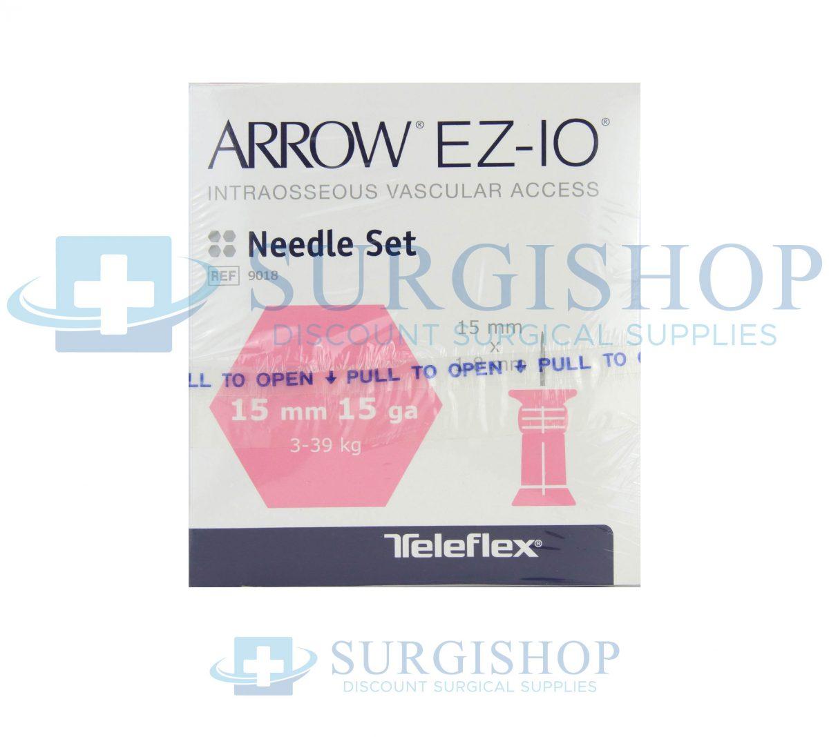 Arrow EZ-IO Needle Set 15mm x 15G