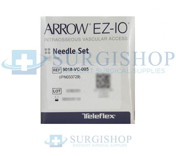 9018-VC-005 – Arrow EZ-IO Needle Set 15mm x 15G Box of 5