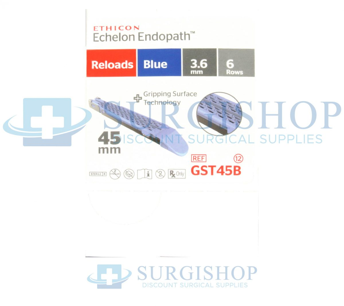 Ethicon Echelon Flex GST System Reload (Blue) 45.0mm x 3.6mm