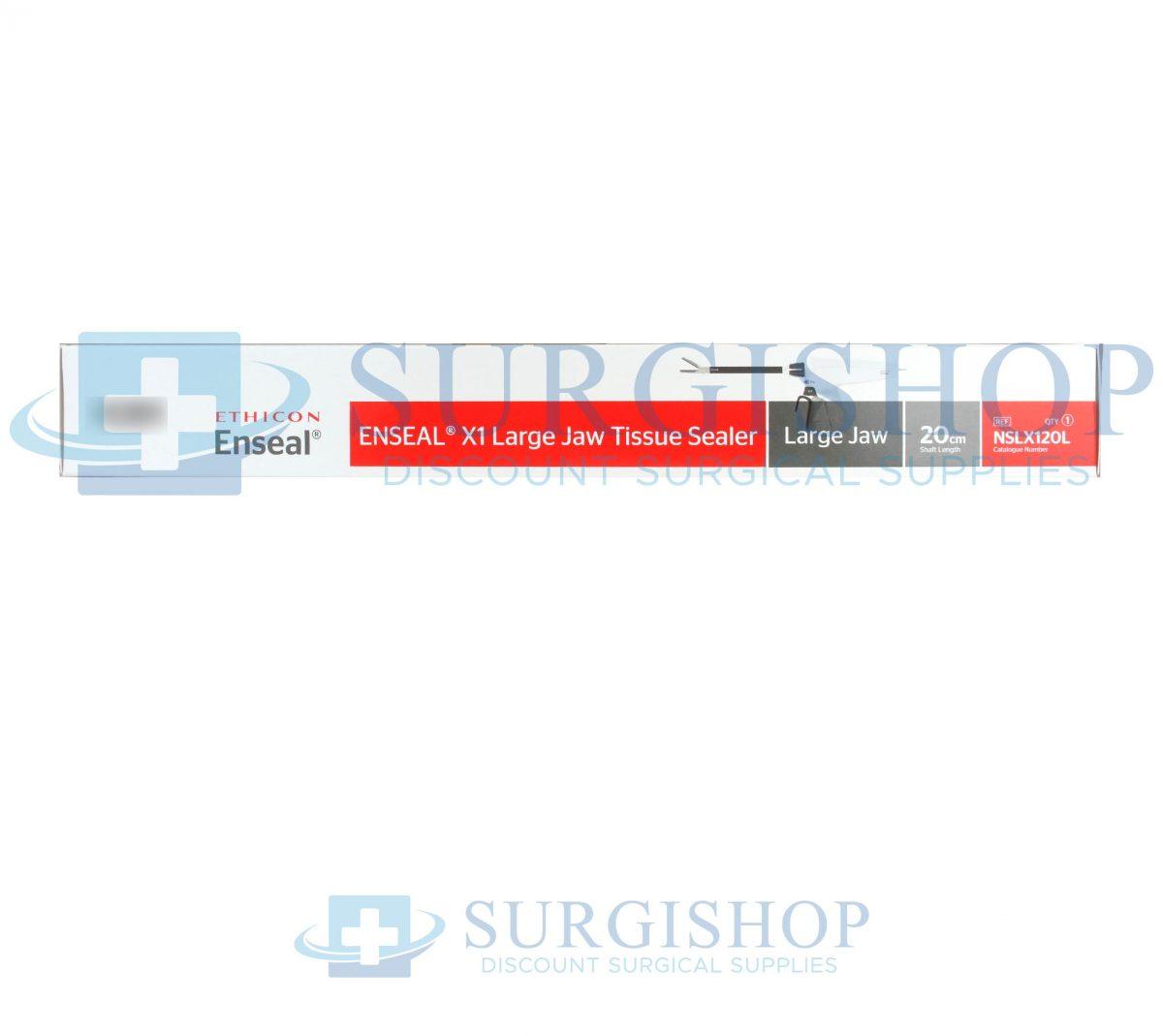 NSLX120L – Ethicon Enseal X1 Curved Tip Tissue Sealer Large Jaw 13.0mm x 20.0cm Each