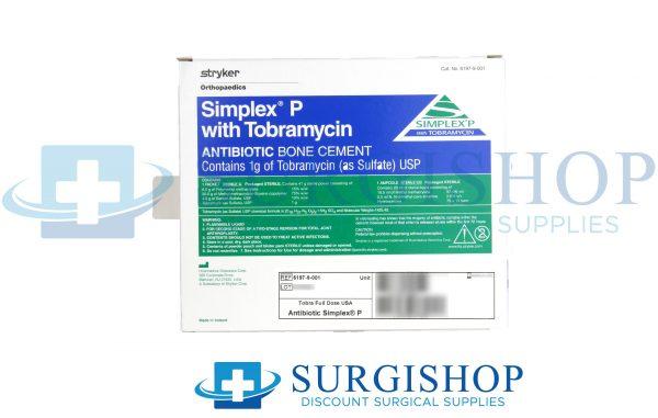 Stryker Simplex P With Tobramycin