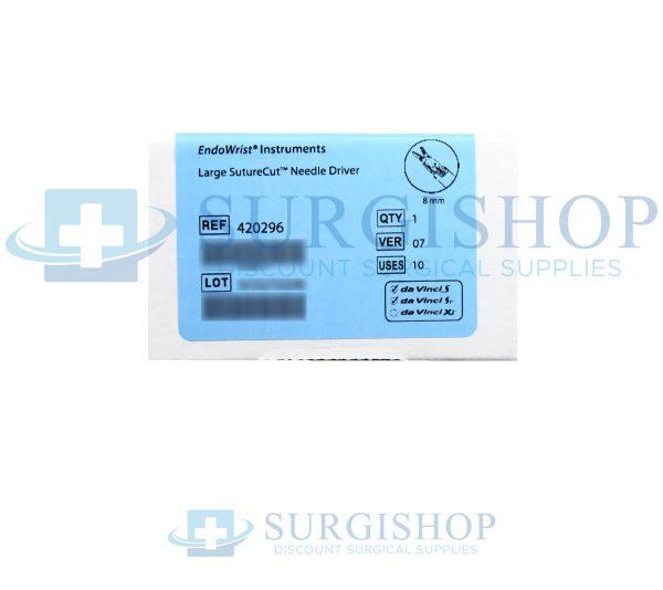 420296 – Intuitive Surgical Da Vinci Large Suturecut Needle Driver 8.0mm Each