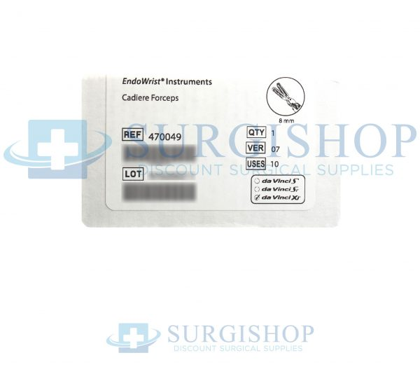 470049 – Intuitive Surgical Cadiere Forceps 8.0mm Each