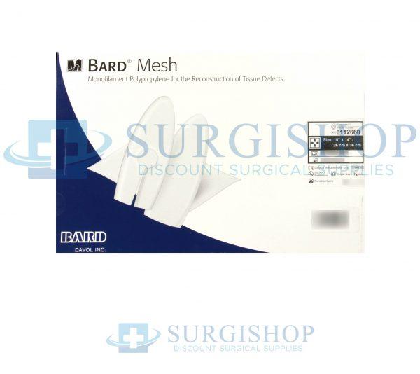 Bard Mesh: Monofilamen Polypropylene Mesh For Reconstruction of Tissue Deffects 26 -36cm