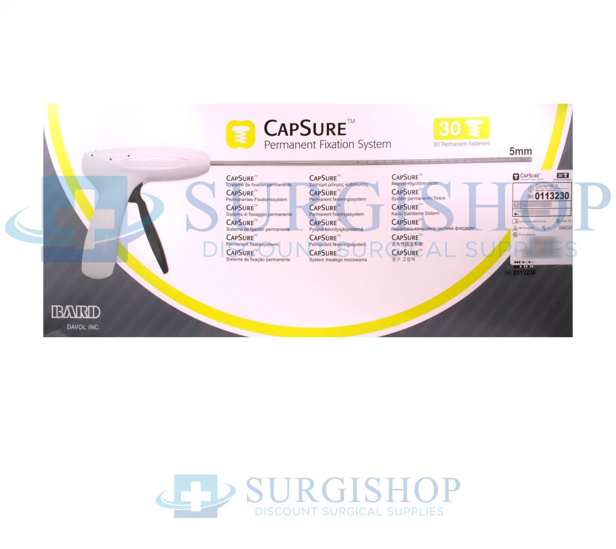 Bard Capsure Permanent Fixation System