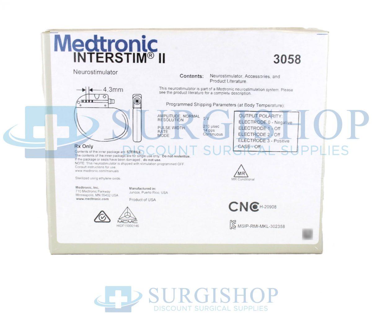 Medtronic Interstim II Neurostimulator