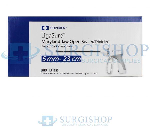 Covidien LigaSure Maryland Jaw Nano-Coated Open Sealer/Divider 5.0mm x 23.0cm